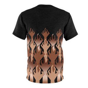 copper foamposite world war kickz v3 sneakermatch t shirt