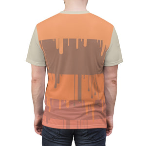 yeezy boost 350 v2 clay sneaker match t shirt cut sew the drip v1
