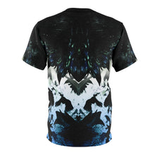 Load image into Gallery viewer, blue mirror foamposite sneakermatch t shirt by gourmetkickz