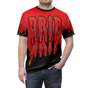 habanero red foamposite sneakermatch shirt drip drip