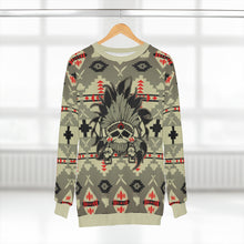 Load image into Gallery viewer, polyester blend all over print sweatshirt to match jordan 6 travis scott cactus jack olive beacon sole chief v2