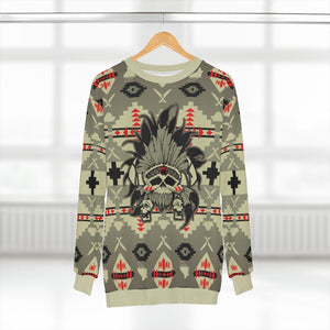 polyester blend all over print sweatshirt to match jordan 6 travis scott cactus jack olive beacon sole chief v2