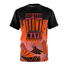 Load image into Gallery viewer, hyper crimson foamposite pro sneaker match colorblock drip too hard cut sew t shirt