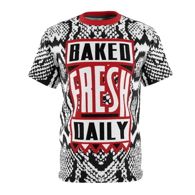 shirt to match nike air foamposite one snakeskin baked fresh daily cut sew v1