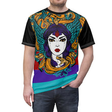 Load image into Gallery viewer, jordan 9 dream it do it sneaker match colorblock macro medusa daily cut sew t shirt