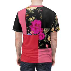 foamposite floral all over print sneaker match shirt floral foamposite shirt floral foam t shirt cut sew polyester v5
