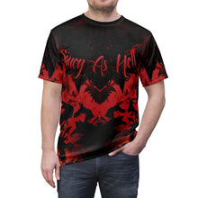 Load image into Gallery viewer, habanero red foamposite sneakermatch shirt v1