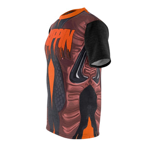 hyper crimson foamposite pro sneaker match t shirt cut sew macroprint