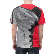 Load image into Gallery viewer, mens skewed macro baked fresh daily t shirt for jordan 6 reflections of a champion aj6 sneaker match cut sew t shirt