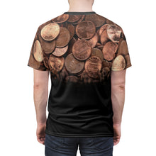 Load image into Gallery viewer, copper foamposite all over print shirt faded v1 by gourmetkickz