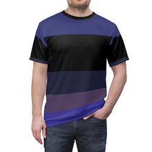Load image into Gallery viewer, eggplant foamposite sneakermatch tshirt v1 cut sew