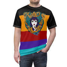 Load image into Gallery viewer, jordan 9 dream it do it sneaker match colorblock medusa daily cut sew t shirt