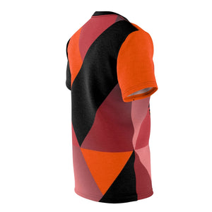 hyper crimson foamposite pro sneaker match t shirt cut sew colorblock daze