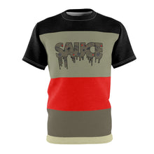 Load image into Gallery viewer, colorblock sauce t shirt for jordan 6 travis scott cactus jack olive