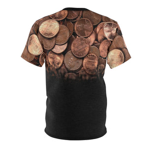copper foamposite all over print shirt faded v1 by gourmetkickz