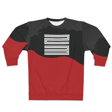 polyester blend all over print sweatshirt to match jordan 11 bred 2019 match aj11 bred