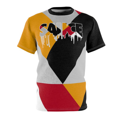 shirt to match jordan 7 reflections of a champion colorblock sauce cut sew