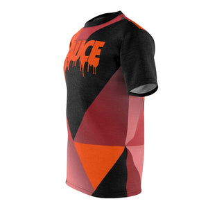 hyper crimson foamposite pro sneaker match t shirt cut sew colorblock sauce
