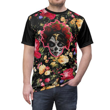 Load image into Gallery viewer, foamposite floral all over print sneaker match shirt floral foamposite shirt floral foam t shirt cut sew flower mistress