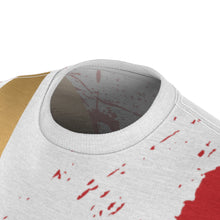 Load image into Gallery viewer, olympic colorway all over print cut sew kill bill shirt
