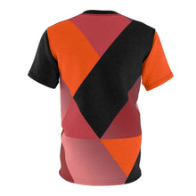 Load image into Gallery viewer, hyper crimson foamposite pro sneaker match t shirt cut sew colorblock drippin