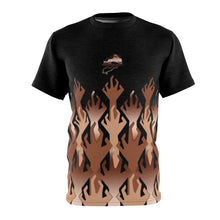 Load image into Gallery viewer, copper foamposite world war kickz v3 sneakermatch t shirt