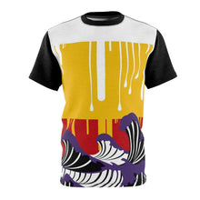 Load image into Gallery viewer, lebron 16 martin sneaker match colorblock drip too hard cut sew t shirt simple drip