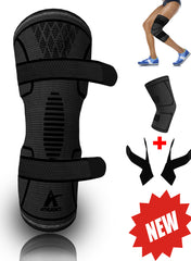 Knee Compression Sleeve with 2 Straps