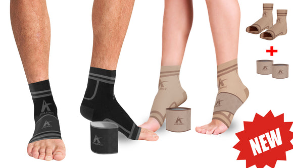 Plantar Fasciitis Compression Socks with Compression Arch Bands