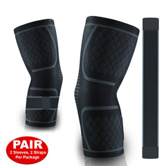 Elbow Compression Sleeves with Strap