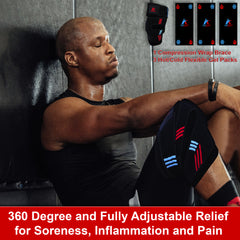 CryoBrace™ Hot & Cold Therapy Knee Compression Brace