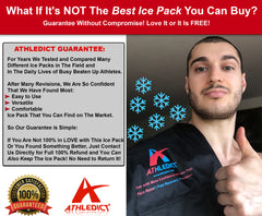 Versatile Ice Pack for Athletes with Hot/Cold Therapy for Pain Relief and Fast Recovery