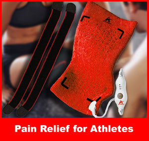 Heat Pad for Athletes - Pain Relief, Rehab, Relax and Recovery