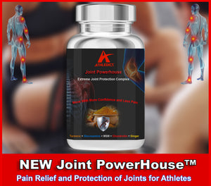 Joint PowerHouse Supplement - Pain Relief and Protection for Joints of High Performers