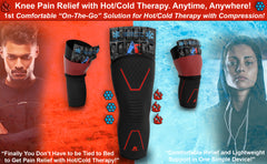Knee Compression Sleeve with Hot/Cold Therapy