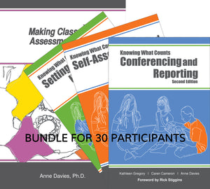 Assessment for Learning K-12 Bundle for 30 participants