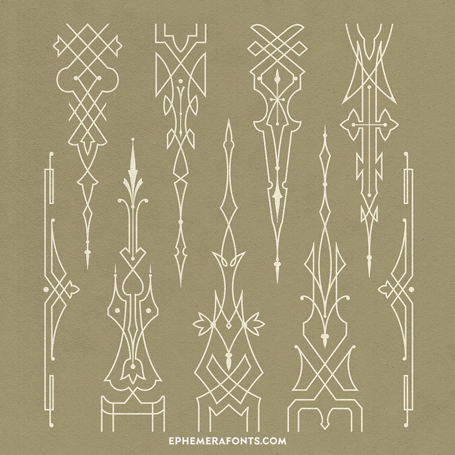 Ornaments & Panels Selection 01