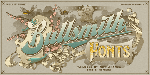 Ephemera Bullsmith Fonts & Ornaments