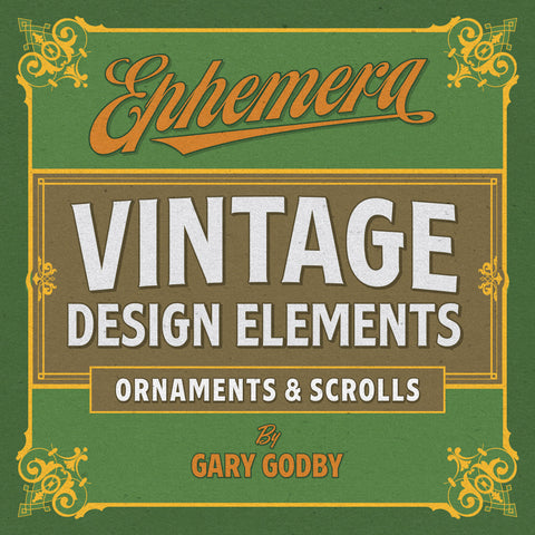 Ephemera Vintage Design Element