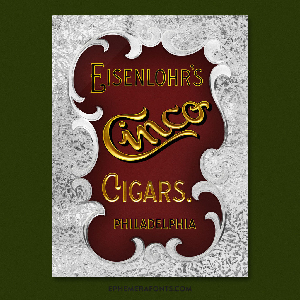 Cinco Cigars Template