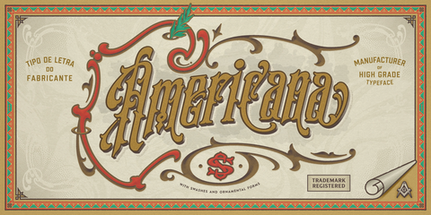 S&S Amberosa Fonts Collections