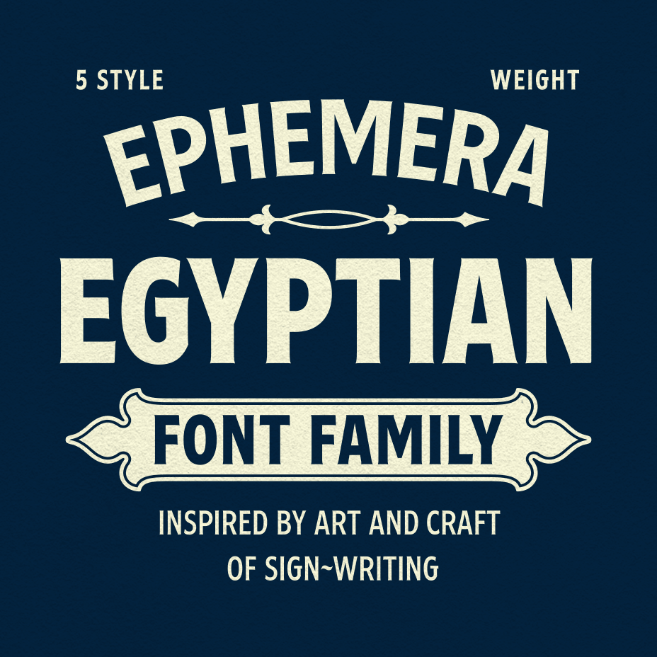 Ephemera Egyptian