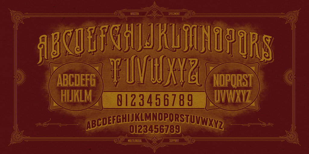 Ephemera Wristen Fonts & Ornaments