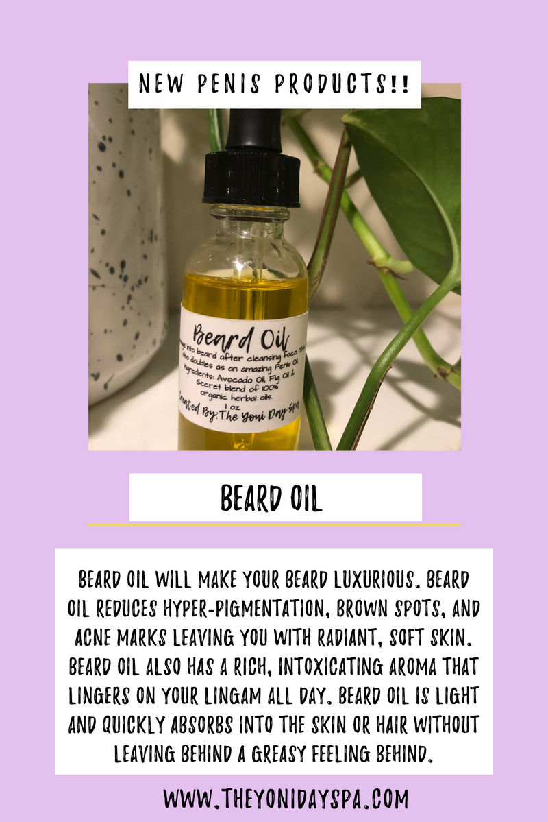 Beard & Pussy Oil Package