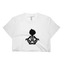 Load image into Gallery viewer, Get Elevated CropTop - WHITE