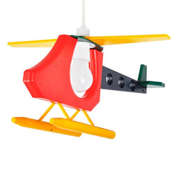 Childrens 3D Helicopter Pendant Shade in Multi Colour