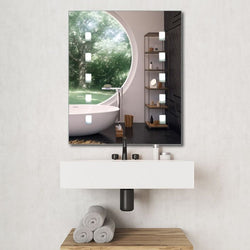 Parma Battery Operated IP44 Bathroom Light Up Mirror