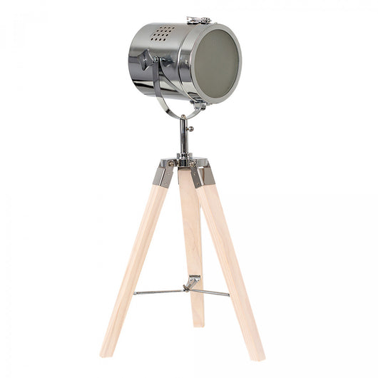 Fernandez Marine Beech Wood Tripod Table Lamp