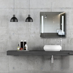 Domo Bathroom Cabinet Mirror With Bluetooth Speaker