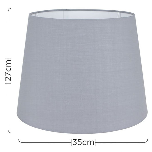 Aspen Large Tapered Shade in Grey